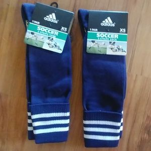 Adidas youth soccer socks